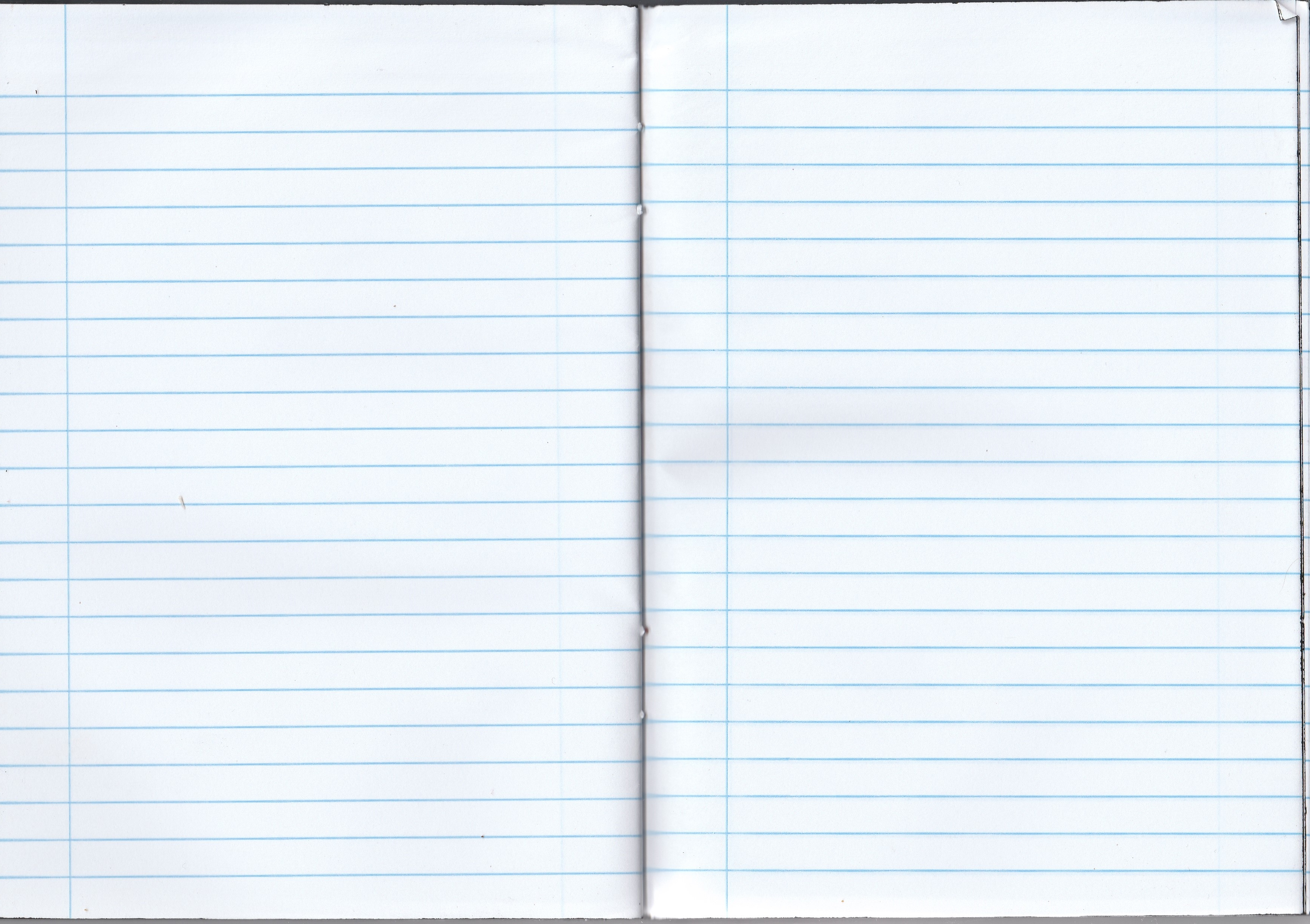 Notebook writing notes