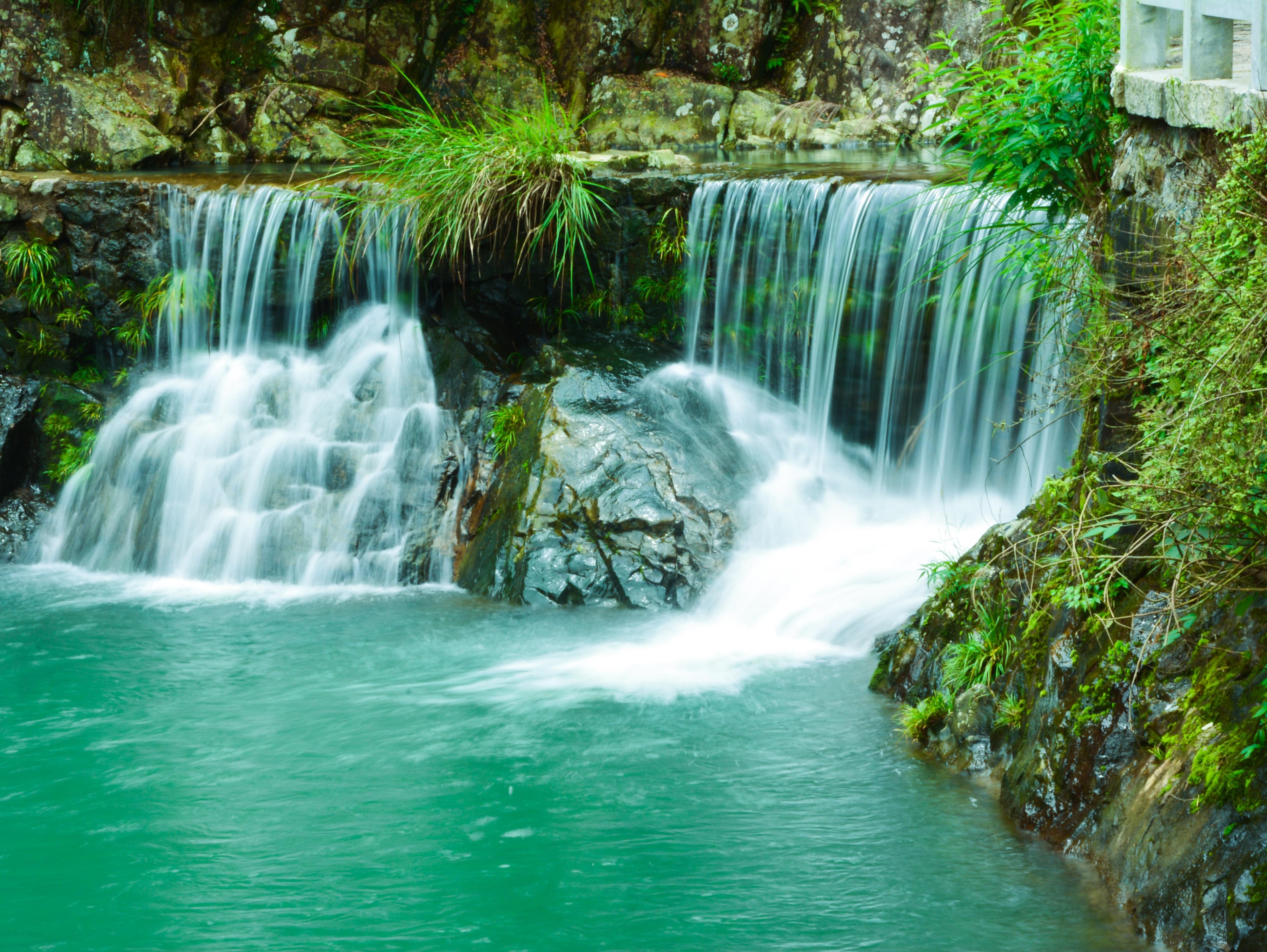 Zhai liao creek falls running water brooks