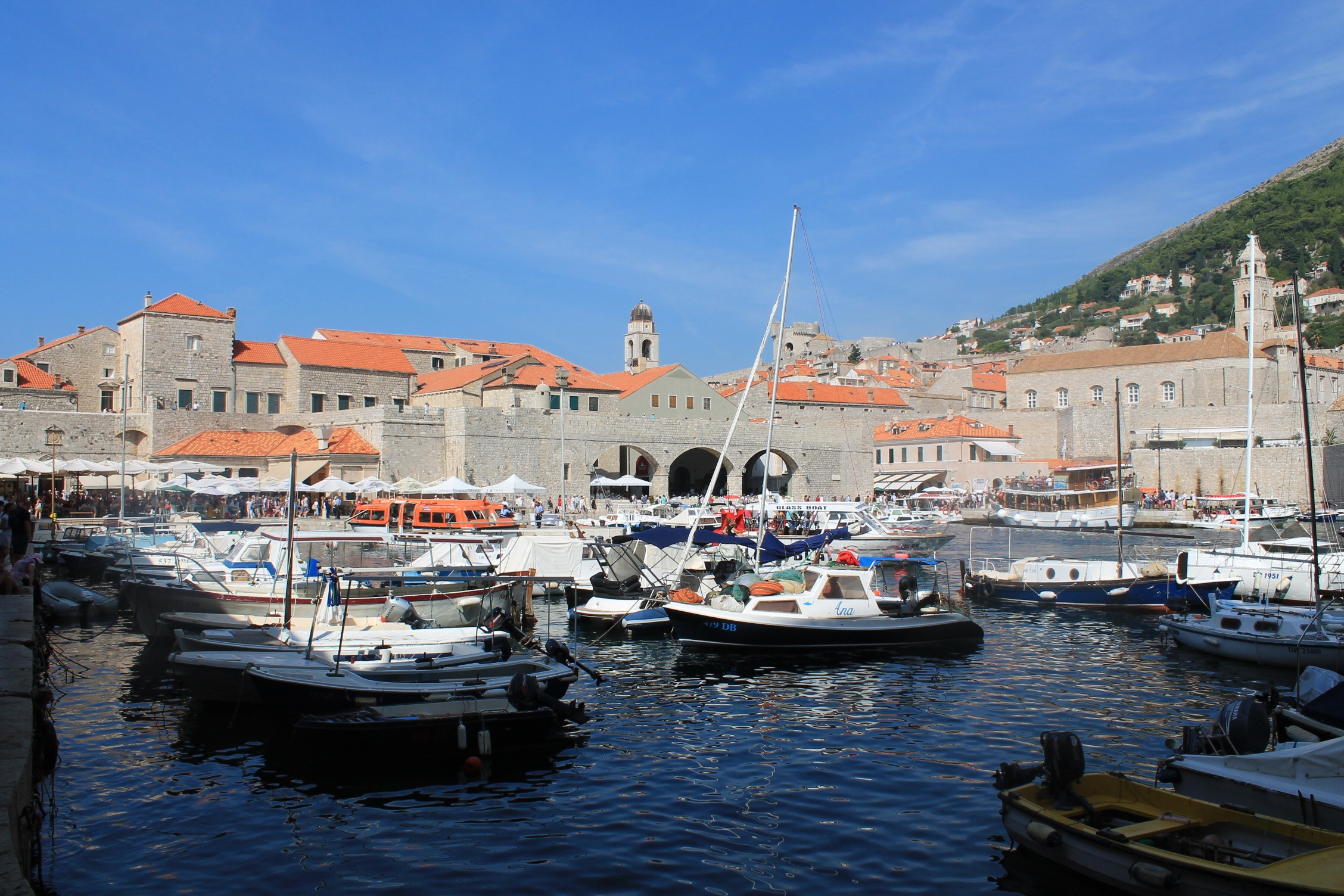 Croatia dubrovnik old port