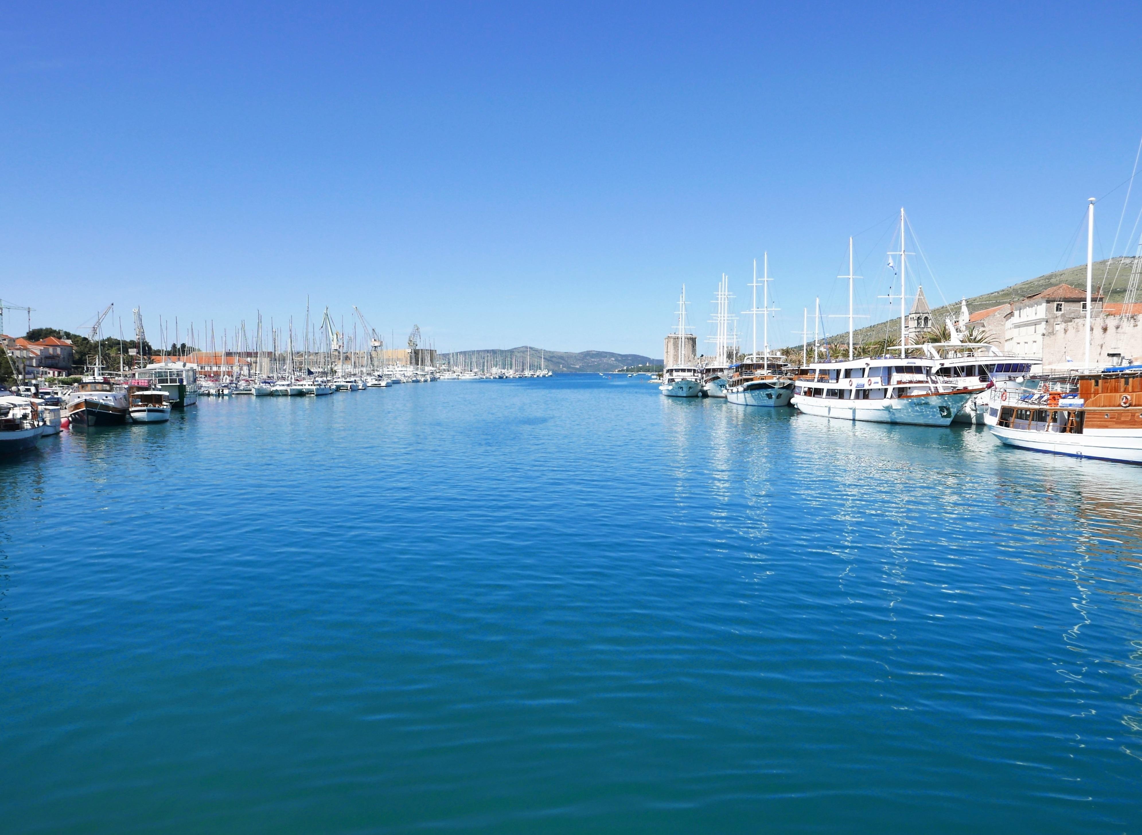 Sea croatia port