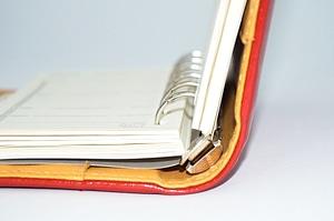 Book metal note