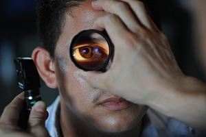 Eye exam examination