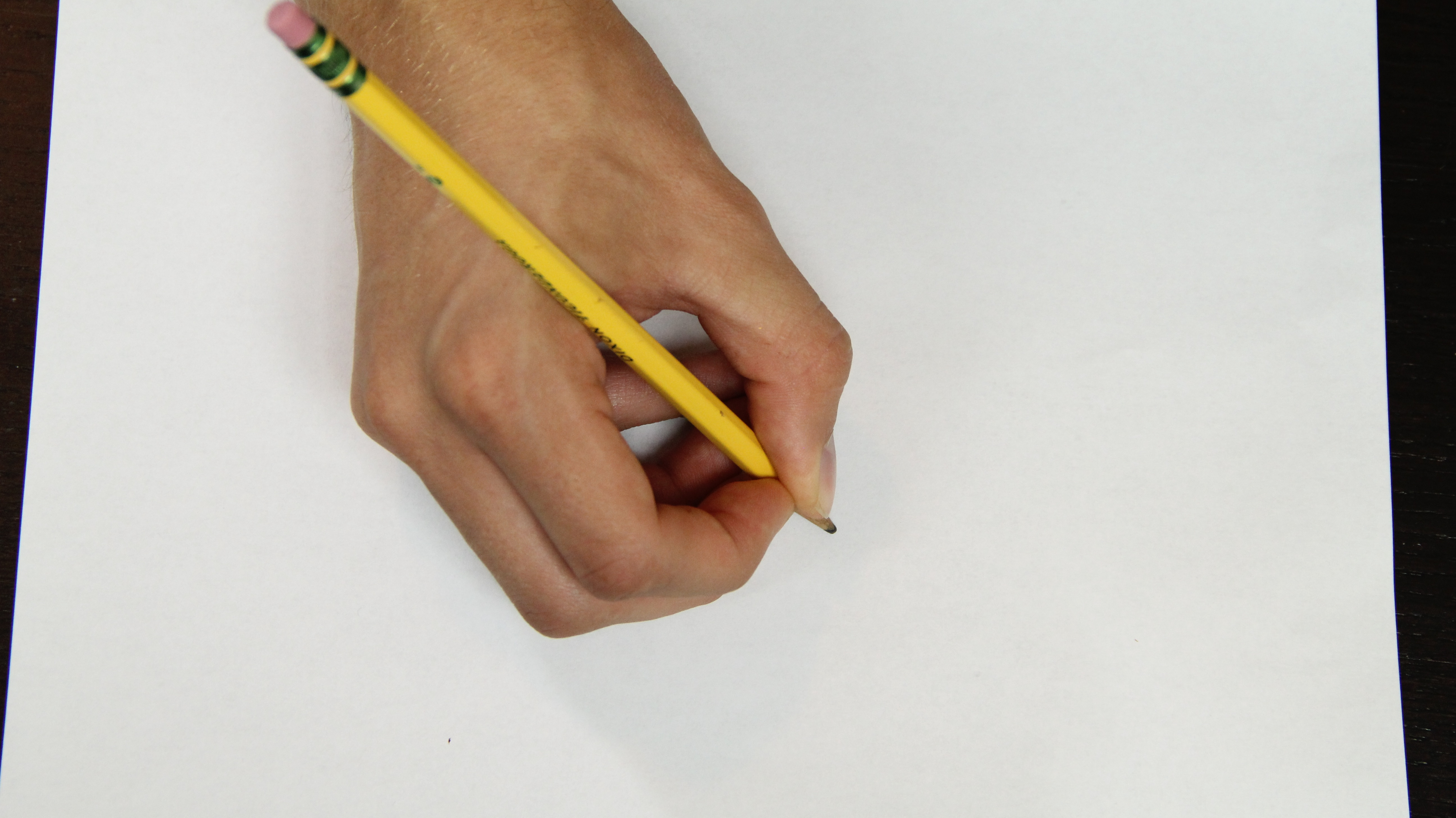 Paper white drawing