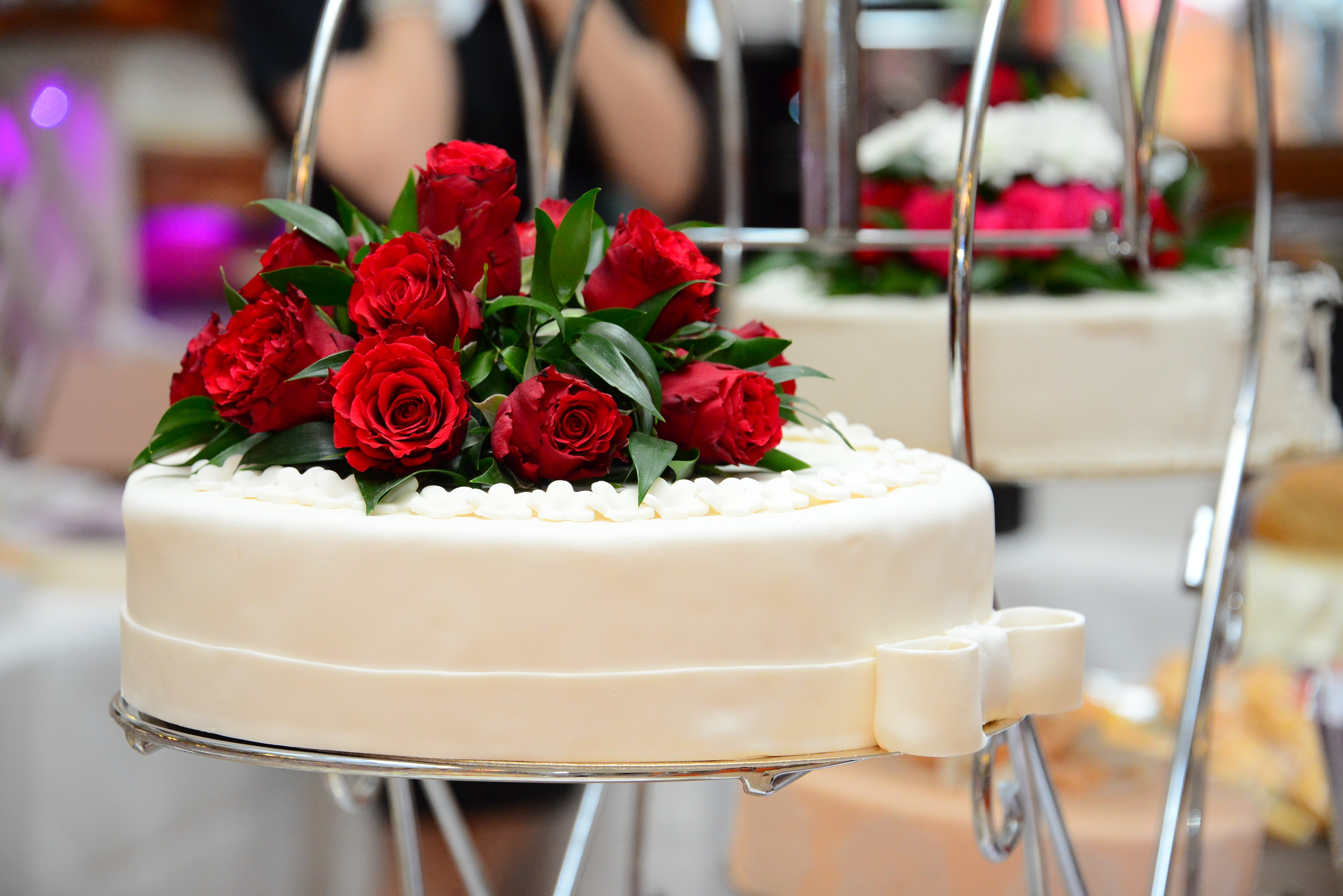 A new way of life the ceremony wedding cake