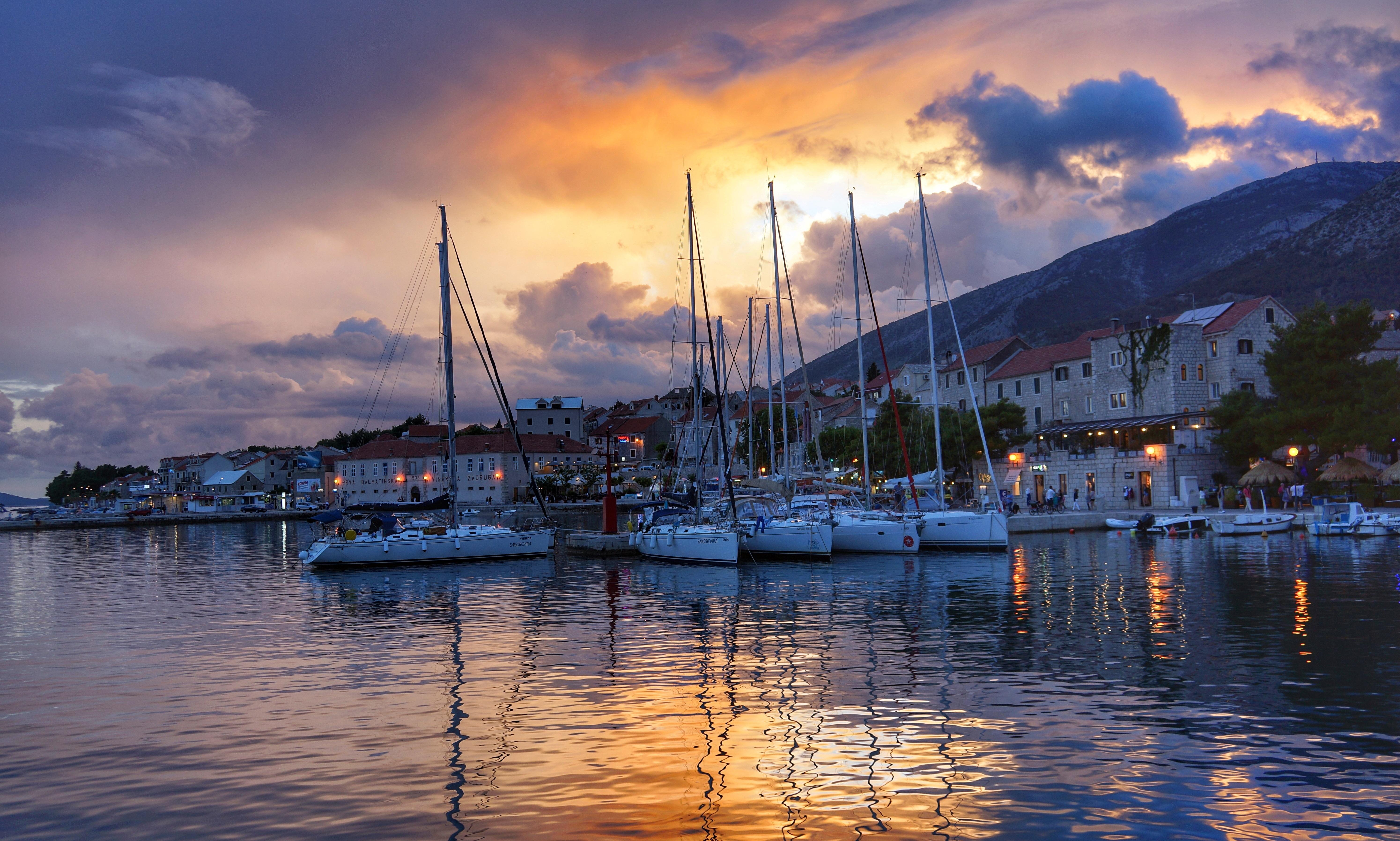 Port boats croatia