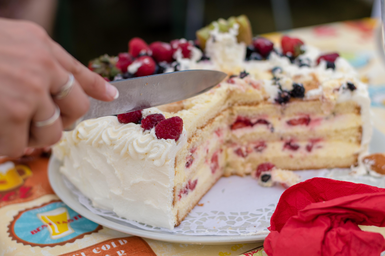 Cake wedding celebration