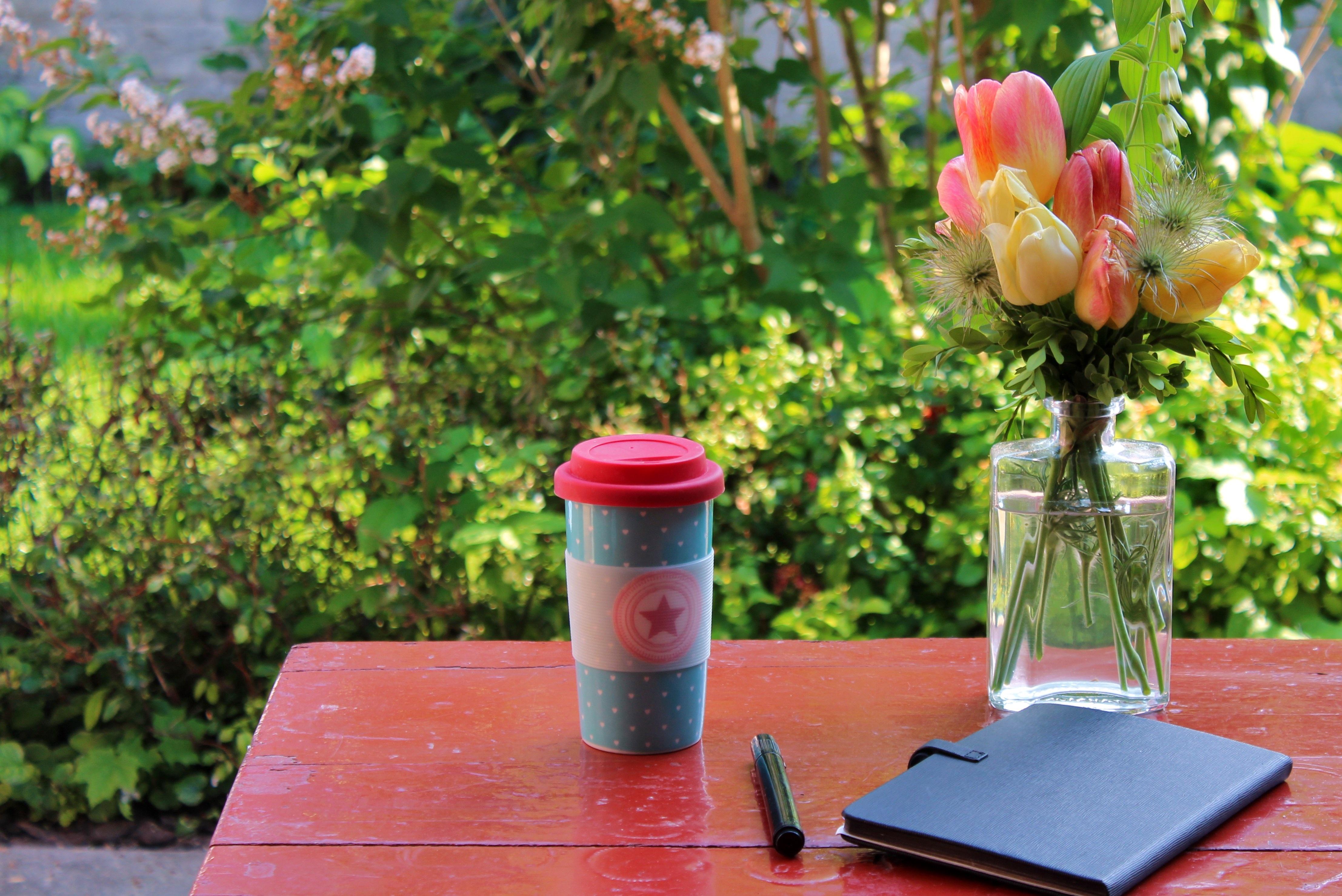 Notes notebook bouquet