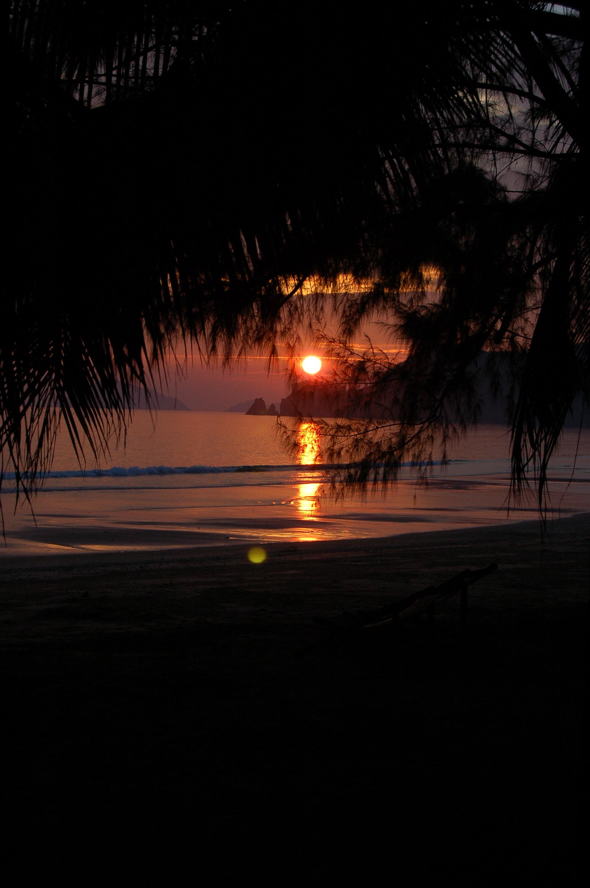 Vacation holidays dusk