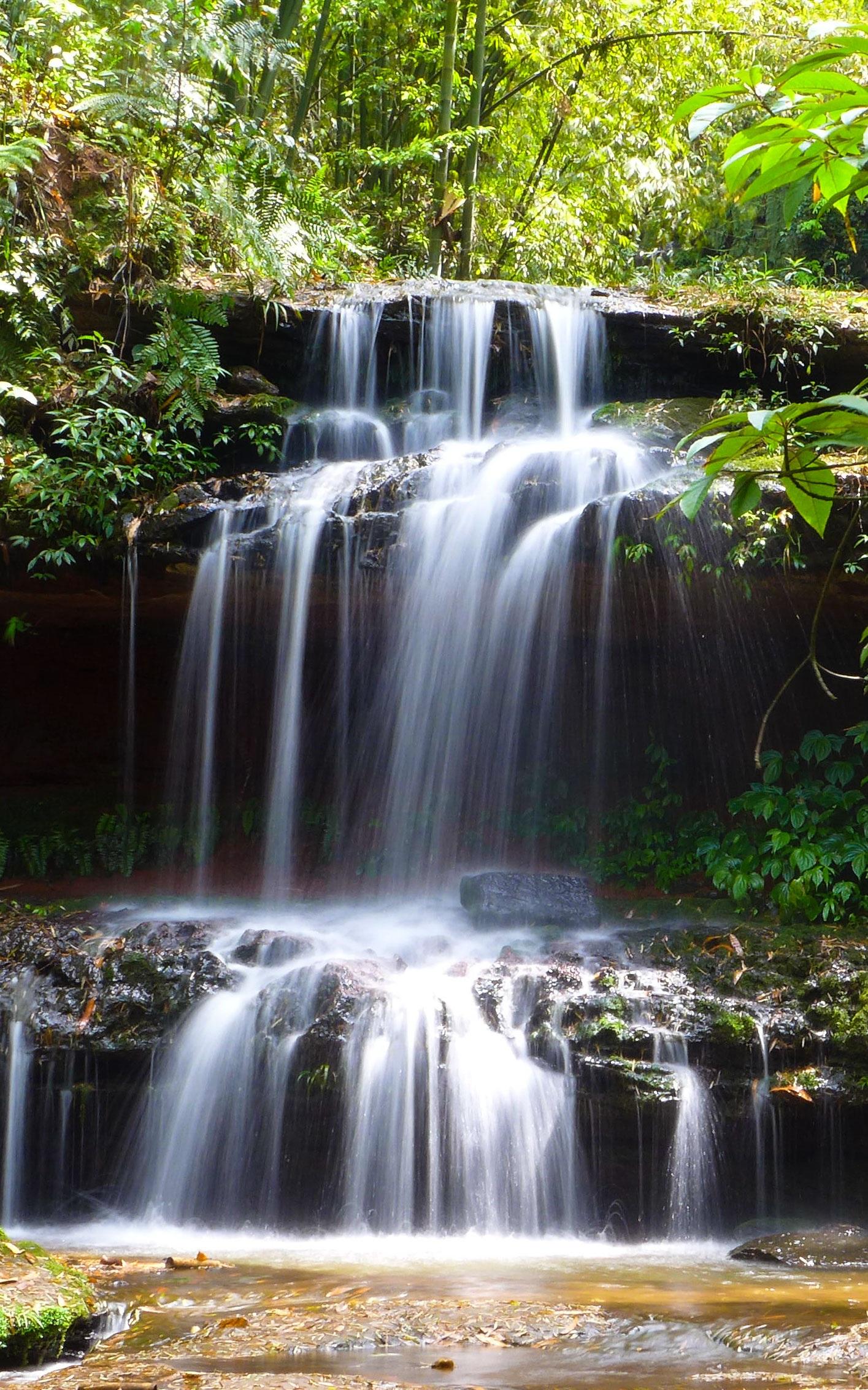 Creek running water falls